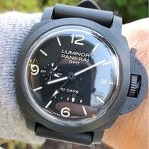 Panerai Luminor 1950 10 Days GMT Ceramic 44mm Black Arabic numerals United States of America, Texas, Plano