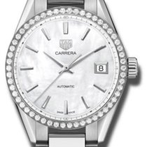 TAG Heuer Carrera Lady neu 2020 Automatik Uhr mit Original-Box und Original-Papieren WBK2316.BA0652