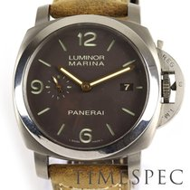 沛納海 Luminor Marina 1950 3 Days Automatic Panerai Pam 352 Luminor Marina 3 Days, 1950 Marina, Titanium, 44mm, Gents 二手