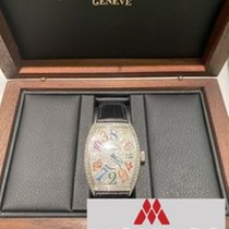 Franck Muller Color Dreams White gold 41mm Silver Arabic numerals