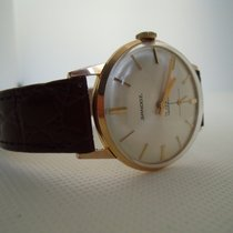Sandoz Gold/Steel 33mm Manual winding 542Y-91 pre-owned