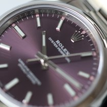 Rolex OYSTER PERPETUAL 34mm Red grape