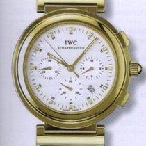IWC Da Vinci Chronograph Жёлтое золото 37mm Белый Без цифр