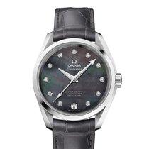 Omega 23113392157001 Seamaster Pearl Diamond Ladies Watch