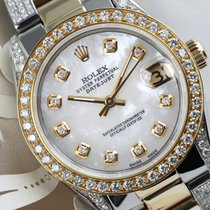 Rolex Lady-Datejust pre-owned 31mm White Date Yellow gold