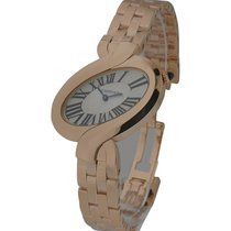 Cartier W8100003 Delices de Cartier Small - Rose Gold on...