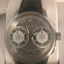 Maurice Lacroix Masterpiece new Manual winding Chronograph Watch with original box and original papers MP7128-SS001-320