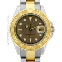 Rolex ladies stainless steel and 18k yellow gold Yacht-Master
