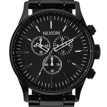 Nixon A386-001 Sentry Chrono All Black 42mm 10ATM
