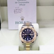 Rolex Yacht Master Blue Dial 18K Yellow Gold & Steel