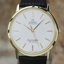 Omega Seamaster Deville Swiss Automatic Mens 32.5mm 1970s Gold...