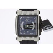 Zeno-Watch Basel Mistery Rectangular Steel NEW