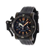 Graham Chronofighter Oversize pre-owned 47mm Steel