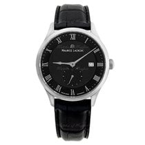 Maurice Lacroix Masterpiece Small Seconde Steel 40mm Black