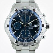 TAG Heuer Aquaracer 300M, CAF2112, S Steel, Blue Chrono, Box...