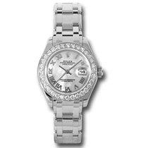 Rolex Lady-Datejust Pearlmaster nieuw Automatisch Horloge met originele doos en originele papieren 80299 mr