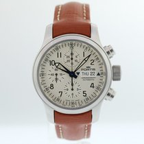 Fortis Steel Automatic White Arabic numerals 42mm pre-owned