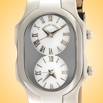 Philip Stein Steel 41mm Quartz 1-G-CW-1B new
