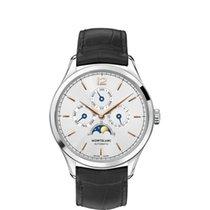 Montblanc Heritage Chronométrie Stål 40mm Sølv Arabisk