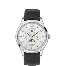 Montblanc Heritage Chronométrie Steel 40mm Silver Arabic numerals United States of America, Iowa