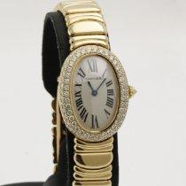 Cartier Baignoire gebraucht Gelbgold