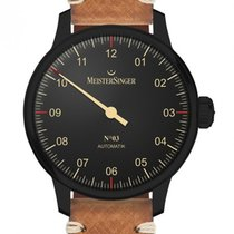 Meistersinger N° 03 AM902BL New Steel 43mm Automatic