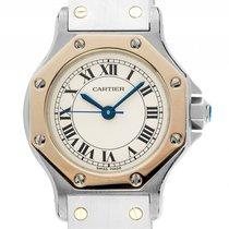 Cartier Santos (submodel) gebraucht 25mm Gold/Stahl