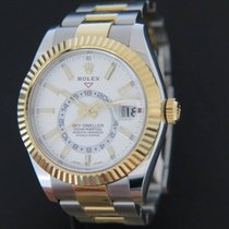 Rolex Sky-Dweller Gold/Steel NEW 326933