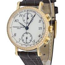 Frederique Constant Chronograaf 34mm Quartz nieuw Classics Chronograph Champagne