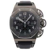 Audemars Piguet Titanium Automatic Grey Arabic numerals 48mm pre-owned Royal Oak Offshore Chronograph