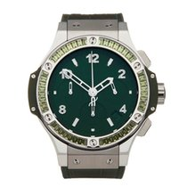 Hublot Big Bang Tutti Frutti pre-owned 41mm Green Rubber