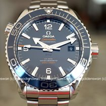 Omega Seamaster Planet Ocean Steel 43.5mm Blue Arabic numerals