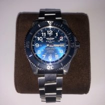 Breitling Superocean II 44 Steel 44mm Blue Arabic numerals
