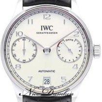IWC Portuguese Automatic Steel Silver Arabic numerals