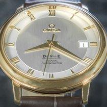 Omega De Ville Prestige Crveno zlato 36.5mm Srebro Rimski brojevi
