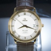 Omega De Ville Prestige Or rouge 36.5mm Argent Romain