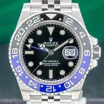 Rolex GMT-Master II Steel 40mm Black Arabic numerals