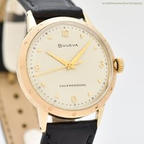 Bulova Yellow gold Automatic Arabic numerals 33mm pre-owned