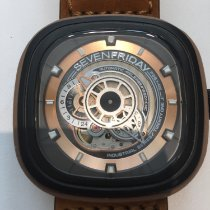 Sevenfriday 47,6mm Automatisch Woody P3 tweedehands