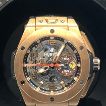 Hublot Big Bang Ferrari Or rose 45mm Transparent Arabes Belgique, Bruxelles
