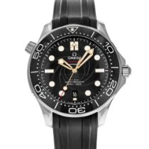 Omega Seamaster Diver 300 M pre-owned 42mm Black Date Rubber