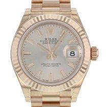 Rolex 279175 Oro rosa Lady-Datejust 28mm nuevo