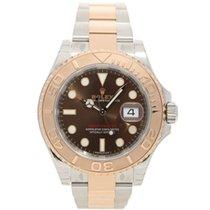 Rolex Yacht-Master 40 Steel & Everose Gold Watch Chocolate Dial