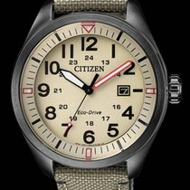 Citizen Zeljezo 42,6mm Kvarc AW5005-12X CITIZEN URBAN Eco Drive 42,6mm Beige nov