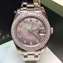Rolex Pearlmaster 34mm Diamond Bezel - Box & Papers 2007