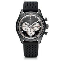 Zenith El Primero Chronomaster Aluminum 42mm Black No numerals