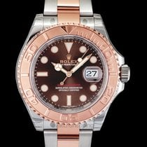 Rolex Yacht-Master 40 Rose gold 40mm Brown