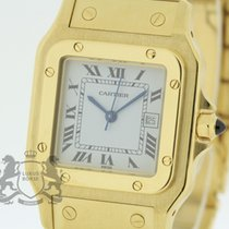 Cartier Santos Square Large Automatic solid 18K Yellow Gold