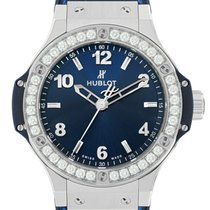 Hublot Big Bang 38 mm Steel 38mm Blue United States of America, New York, New York
