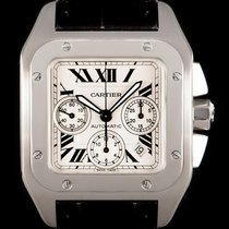 Cartier Santos 100 pre-owned 41mm Steel